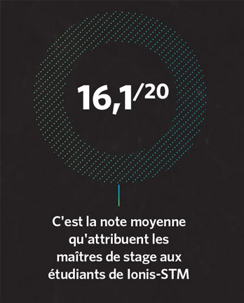 Note moyenne stage