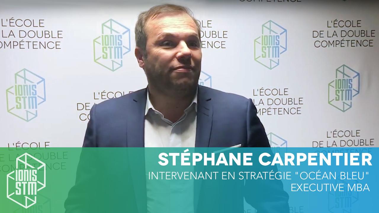 Stéphane Carpentier, intervenant en stratégie