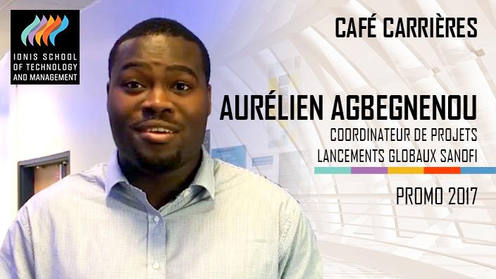 Aurélien Agbegnenou, Sanofi, Coordinateur de projets lancements globaux