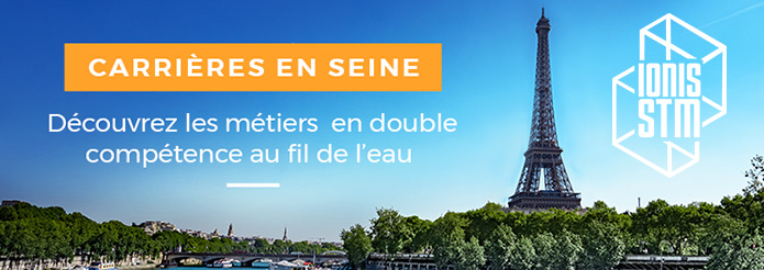 Carrières en Seine de Ionis-STM: découvrez les métiers en double compétence au fil de l'eau, le samedi 18 mai