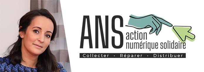 Action Numérique Solidaire, l'initiative d'Imene Alaouchiche (Ionis-STM promo 2009)