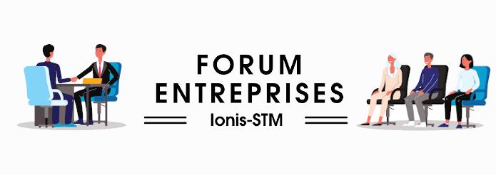 Recruteurs, participez au Forum Entreprises de Ionis-STM, ce jeudi 16 septembre 2021!